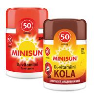 Minisun D-vitamiini 50mikrog 200purutabl./tabl.